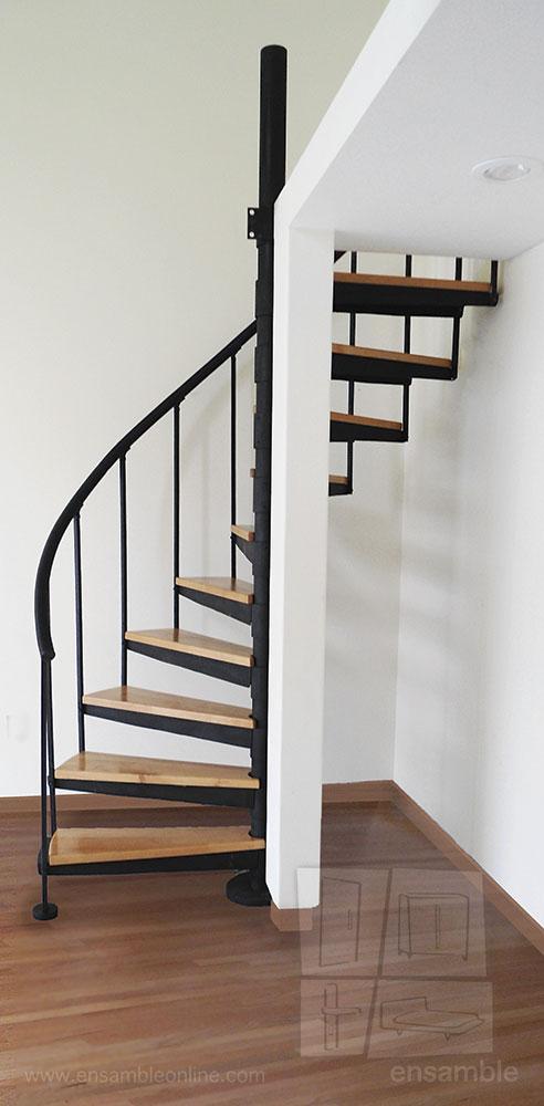 Escaleras de medio caracol ensamble online for Vivero online mexico