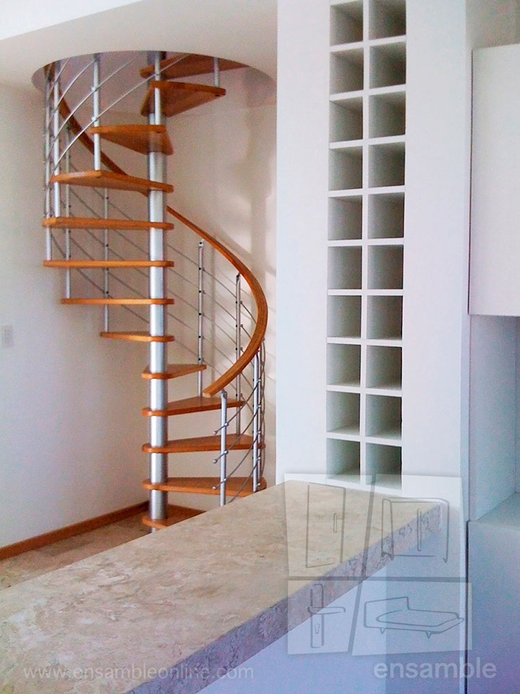 Escaleras de caracol ensamble online for Vivero online mexico